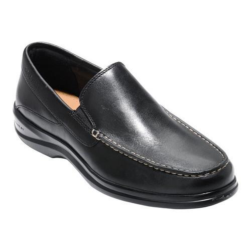 b70be15be7e Shop Men s Cole Haan Santa Barbara Twin Gore II Slip-On Black Leather -  Free Shipping Today - Overstock - 17765209
