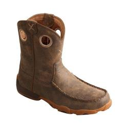 Children's Twisted X Boots YDB0002 Driving Moc Cowgirl Boot Bomber Leather