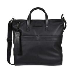 Women's Sherpani Faith Ethos Leather Satchel Jet Leather