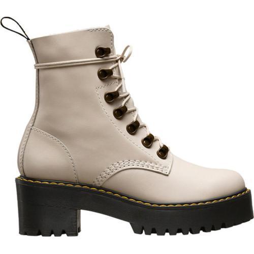e21863e1454 Women's Dr. Martens Leona 7-Eye Hiker Boot Bone Temperley Analine Burnished  Leather