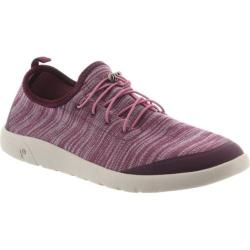 Women's Bearpaw Irene Sneaker Plum Stretch Knit (More options available)