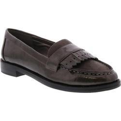 Women's Bellini Dapper Fringe Loafer Grey Patent/Microsuede