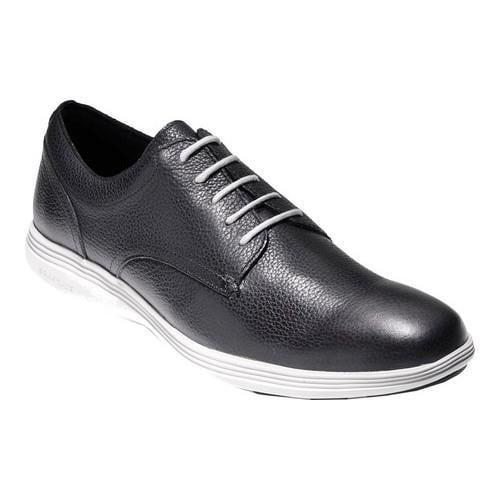 Men's Cole Haan Grand Tour Oxford Black/Vapor Grey Leather