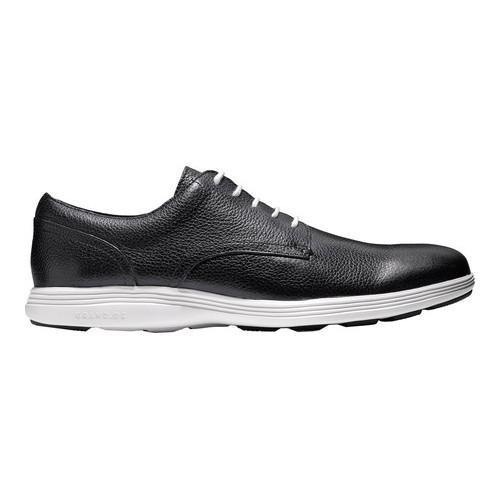Men's Cole Haan Grand Tour Oxford Black/Vapor Grey Leather - Thumbnail 1