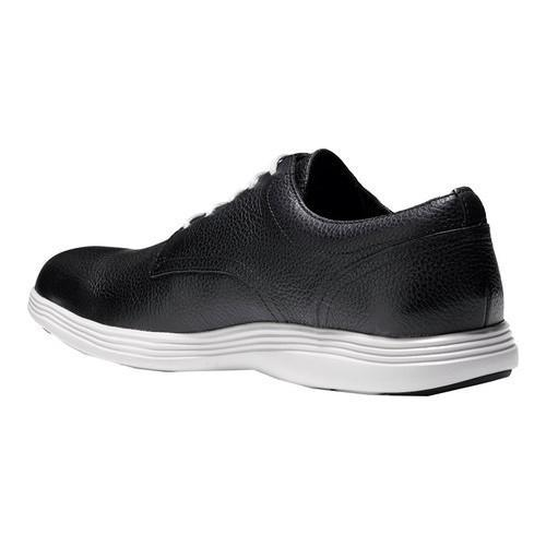 Men's Cole Haan Grand Tour Oxford Black/Vapor Grey Leather - Thumbnail 2