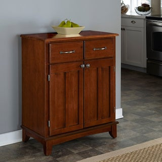 Copper Grove Trembleur Medium Cherry Buffet with Wood Top