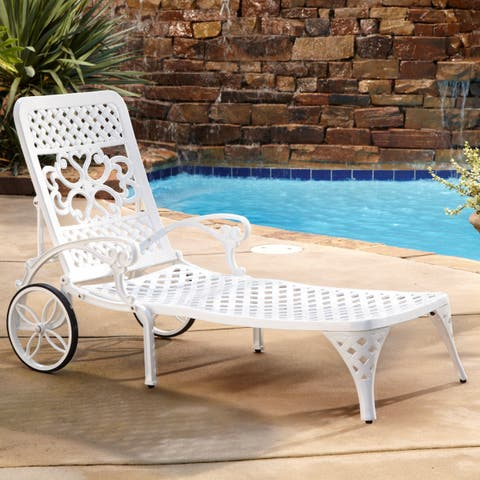 Havenside Home Fenwick Chaise Lounge Chairs (Set of 2)