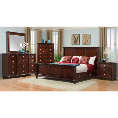 Buy Cherry Finish Bedroom Sets Sale Online At Overstock Our Best
