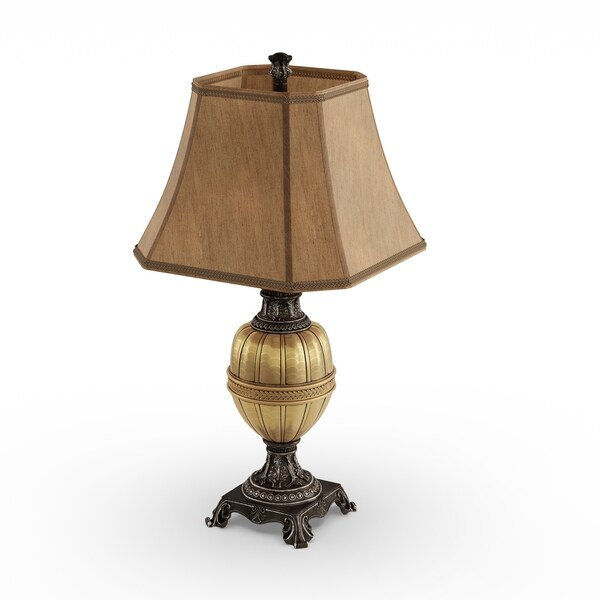 Gracewood Hollow Andrew Antique Gold Table Lamp