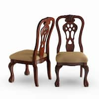 Gracewood Hollow McCaffrey Cherry Dining Chair (Set of 2)