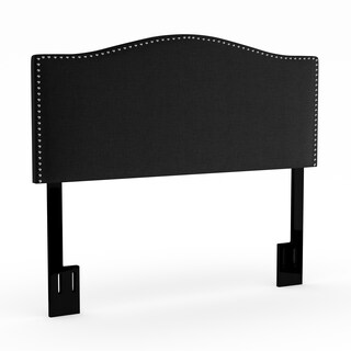 Portfolio Lucca Curved Full/ Queen Upholstered Headboard