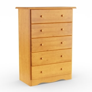 Gracewood Hollow Siddartha Solid Wood 5 Drawer Chest