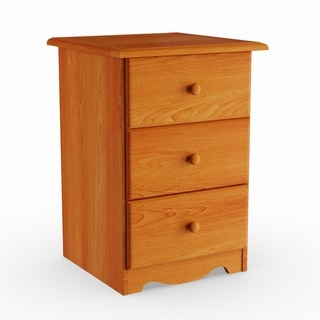 Copper Grove Caddo Solid Wood 3-drawer Night Stand