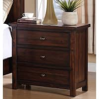 Carbon Loft Plumas 3-drawer Modern Nightstand