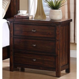 Gracewood Hollow Ingpen 3-drawer Modern Nightstand