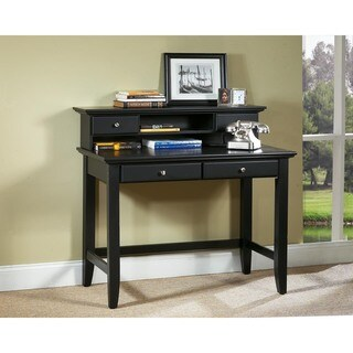 Copper Grove Umatilla Black Student Desk and Hutch