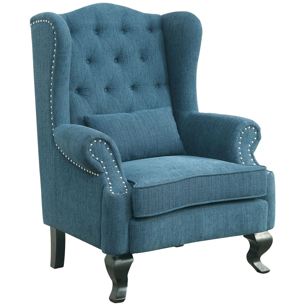 Wingback Chairs Blue Living Room Online At Our Best Furniture Deals