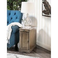 Gracewood Hollow Flanagan Multi-Storage Side Table