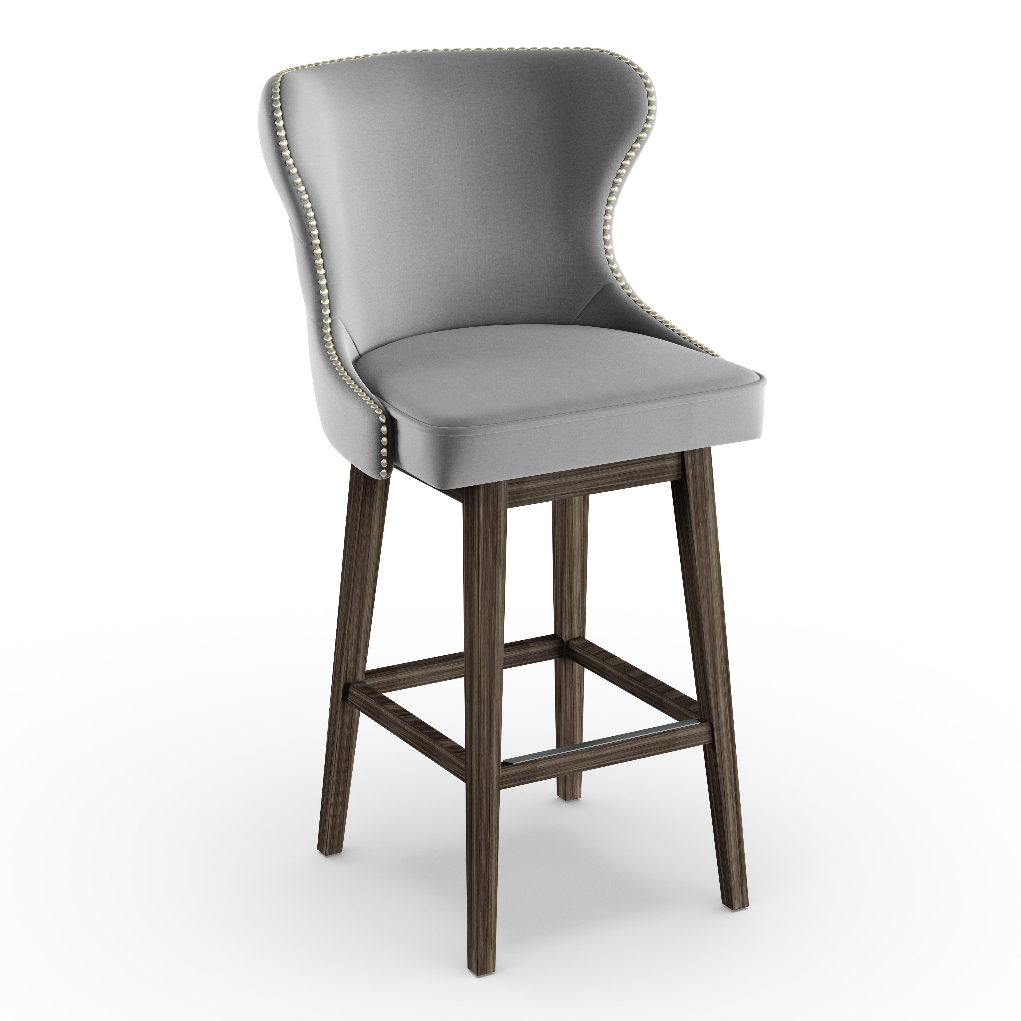 Strange Gracewood Hollow Paul Dark Grey 30 Inch Barstool Inzonedesignstudio Interior Chair Design Inzonedesignstudiocom