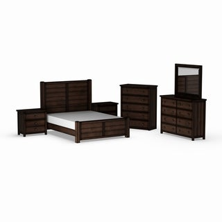 Carbon Loft Plumas Queen Panel 6-piece Bedroom Set