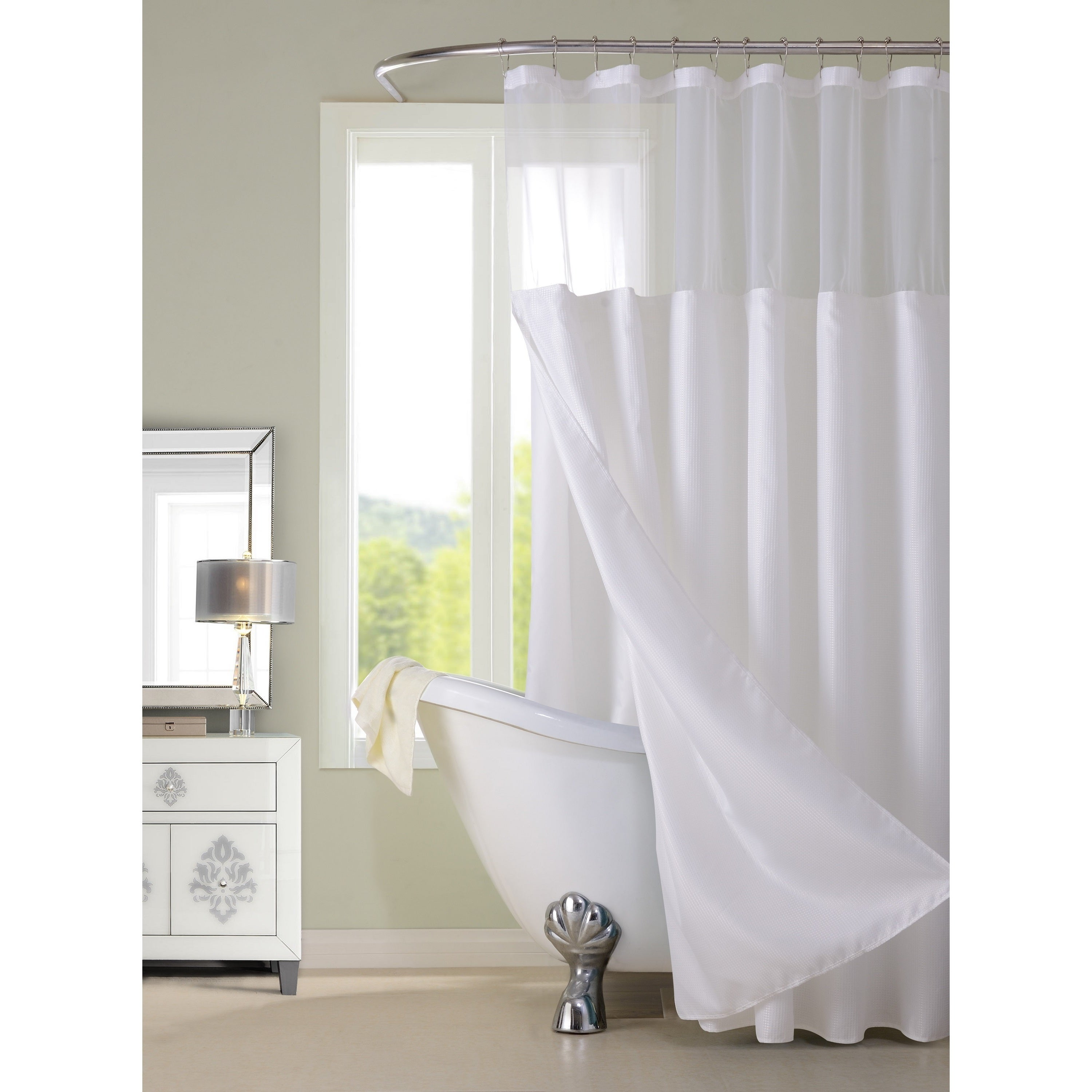 Traditional Shower Curtains