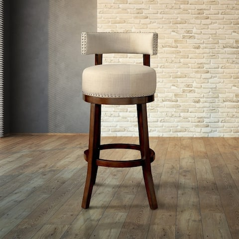 Copper Grove Conestogo Swivel Bar Stool (Set of 2)