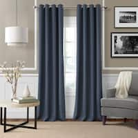 Gracewood Hollow Swatridge Grommet Linen Curtain Panel