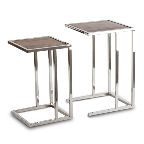 Lambruisse Nested Side Tables   Set Of 2