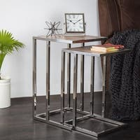 Lambruisse Nested Side Tables - set of 2