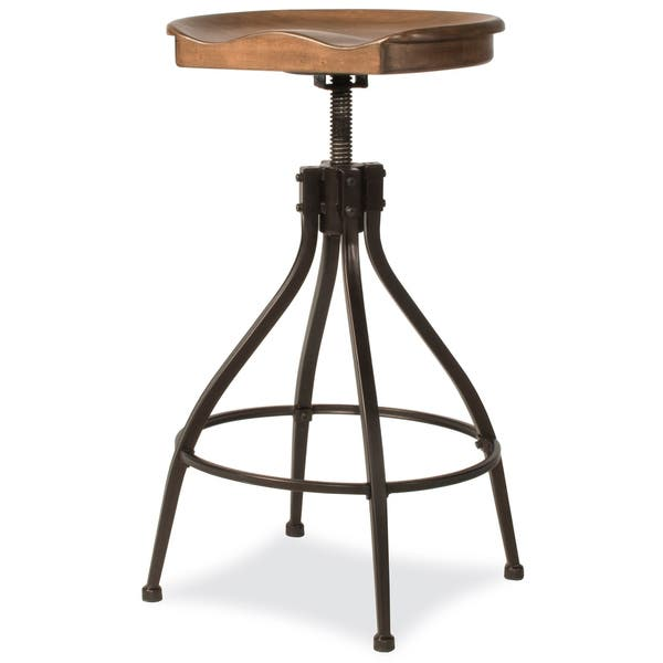 Pleasing Shop Worland Adjustable Swivel Backless Stool Free Pabps2019 Chair Design Images Pabps2019Com