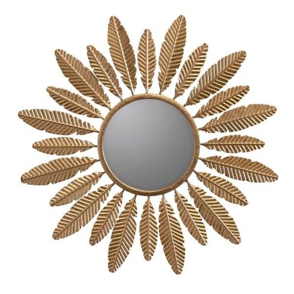 Alice Gold Sunburst decorative wall Mirror - Bronze/Bronze/Gold