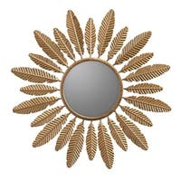 Alice Gold Sunburst decorative wall Mirror