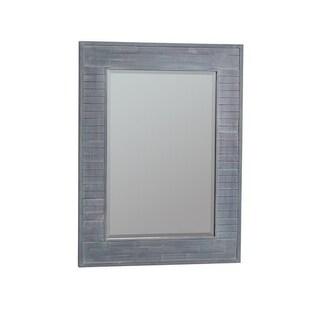 Lana Blue Glass Mirror