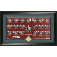 "Philadelphia Eagles Super Bowl 52 Champions ""Match Up"" Photo Mint - Multi-color"