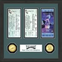 Philadelphia Eagles Road to Super Bowl 52 Ticket Collection - Multi-color