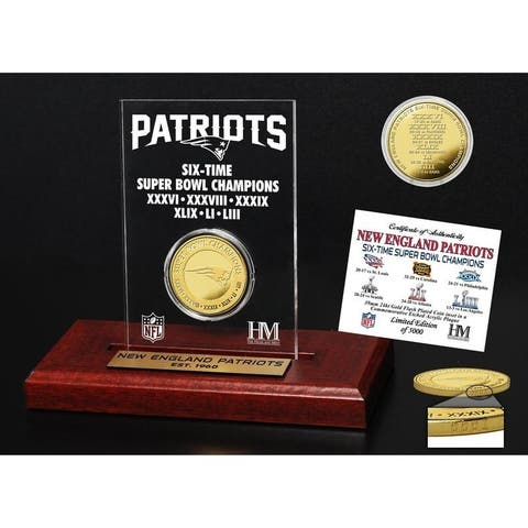 4084c767 Buy New England Patriots Highland Mint Football Online at Overstock ...