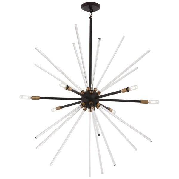 George Kovacs Spiked Contemporary Metal 6-light Pendant