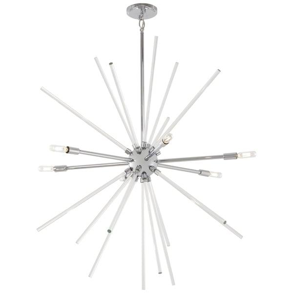 George Kovacs Spiked 6-Light 6 Light Pendant - Chrome