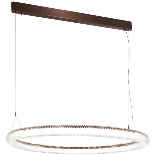 George Kovacs Roulette 1-Light Satin Bronze Led Pendant