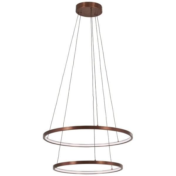 George Kovacs Full Orbit 1-Light Satin Bronze Led Pendant
