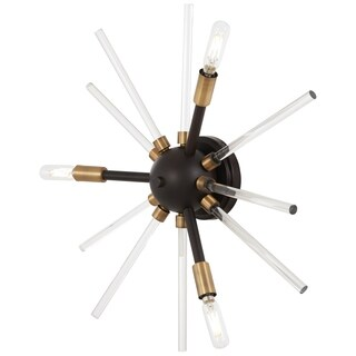 George Kovacs Spiked 3-Light Wall Sconce