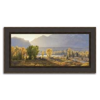 """Illuminated Landscape "" Framed Photograph Print in Acrylic Finish"