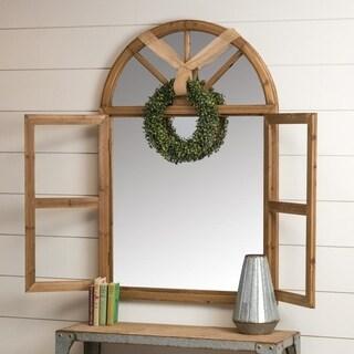 Alexander Wood Farmhouse Arch Wall Mirror