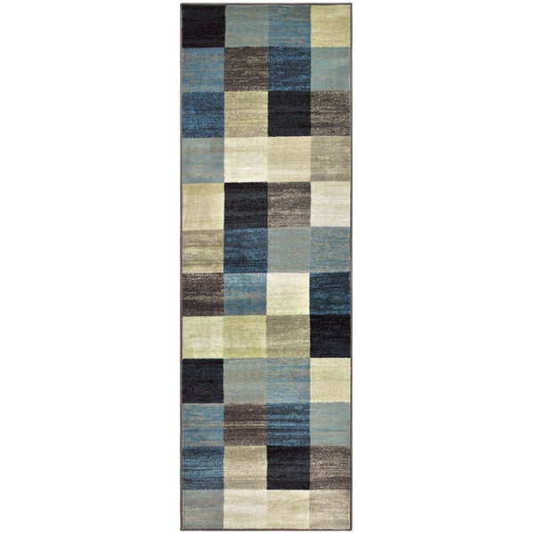 "Superior Designer Rockaway Area Rug Collection - 2'6"" x 8'"