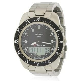 T-Touch Expert Pilot Titanium Mens Watch T0134204405700