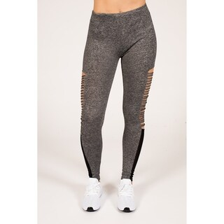 Active Strappy Legging with Mesh Inserts