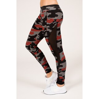 Active Camouflage Legging with Double Mesh Insert (More options available)