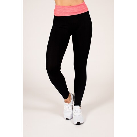 Active Fold-Over Yoga Leggings
