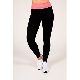 Active Fold-Over Yoga Leggings