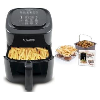 Nuwave 37001 6qt. Brio Air Fryer with 4 pc. accessory Kit